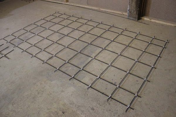 Composite mesh for the slab 2P30.18-30