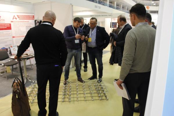 Композитная сетка BASIS на выставке Композит-экспо 2017