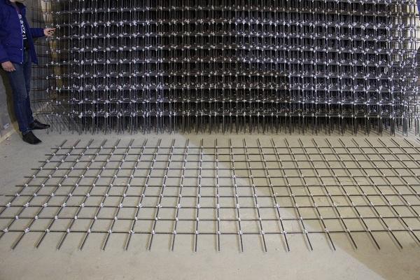 Стеклопластиковая сетка базис для бетона