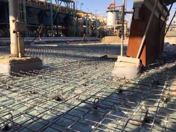 Композитная сетка бетонная плита