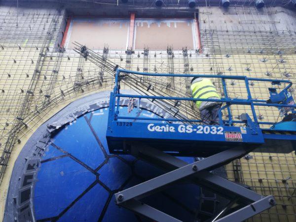 Композитная сетка BASIS при строительстве зоопарка в Бельгии